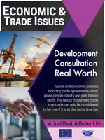 Economic & Trade Issues Poster